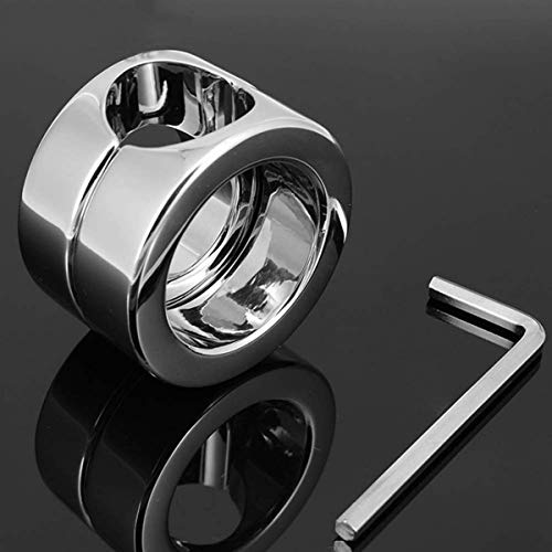 Penis Ring Edelstahl Ballstretcher Cockring Cock and Ball Lock...