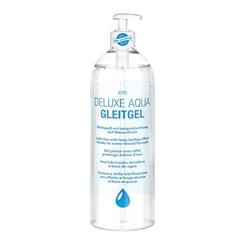 Gleitgel auf Wasserbasis, EIS Deluxe Aqua Gleitmittel mit...