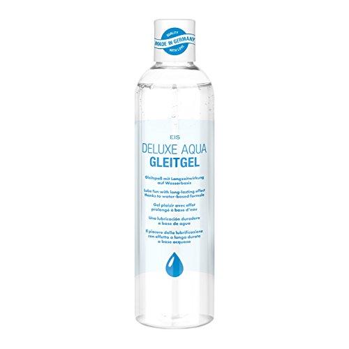 Gleitgel von EIS, Deluxe Aqua Gleitmittel auf Wasserbasis, extra...
