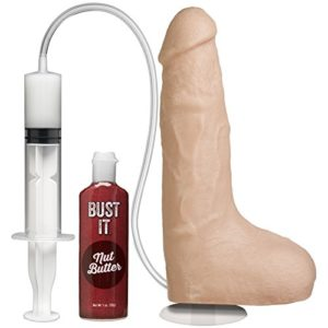 Doc Johnson Squirting Realistic Cock - ejakulierender Dildo in Penis Form - 24 cm - hautfarben